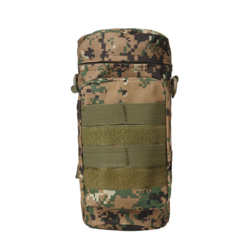 Tactical Military Pouch 1L Water Bottle Holder Camping Hiking Molle Waist Belt B