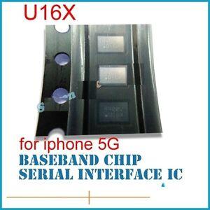 1X Apple iphone 5//5S Baseband IC Chip 8pins U16X Fix Motherboard