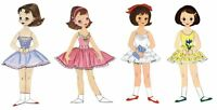 10 Year Collection Of Betsy Mccall Paper Dolls On Cd 1951 To 1961