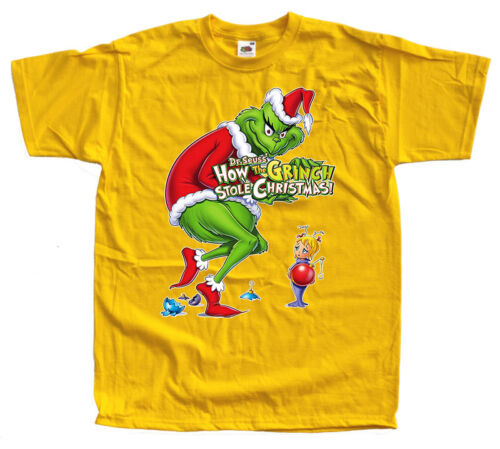 How the GRINCH Stole Christmas t-shirt movie 9 colors sizes S 5XL100/% cotton