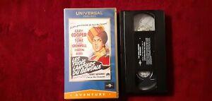 CASSETTE-VIDEO-VHS-LES-TROIS-LANCIERS-DU-BENGALE-GARY-COOPER-ANNEE-1935