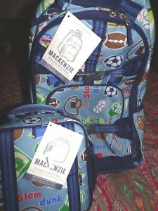 Pottery Barn Kids Mackenzie Varsity Rolling Backpack Lunch