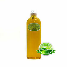 Pure Mustard Seed Oil Organic Cold Pressed By Dr.Adoroble 16 oz/1 Pint Free Ship