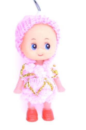 Baby Doll Knit Hat Charm Phone Car Bag Key ring keyring