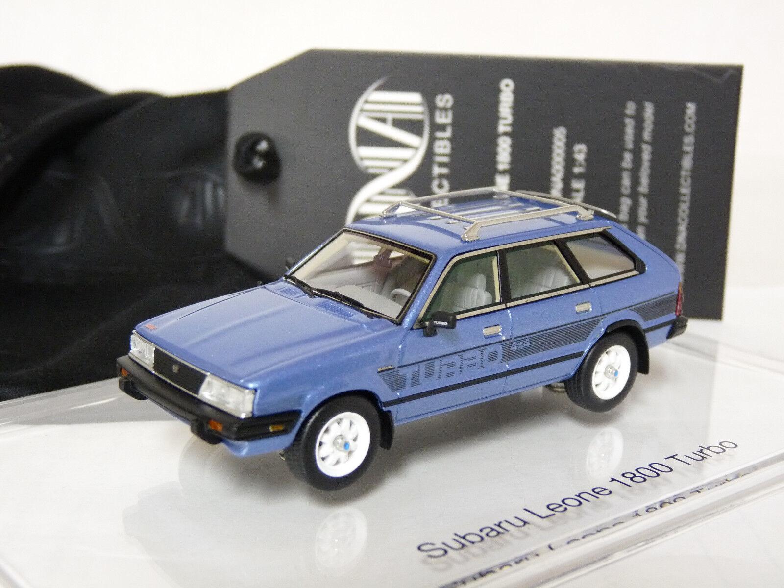 ventas al por mayor DNA DNA000005 1 43 1983 Subaru Leone 1800 Turbo 4x4 4x4 4x4 Coche Modelo de Resina de vagón  servicio honesto