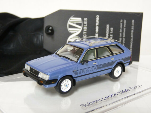 DNA DNA000005 1/43 1983 Subaru Leone 1800 Turbo 4x4 Wagon Resin Model Car