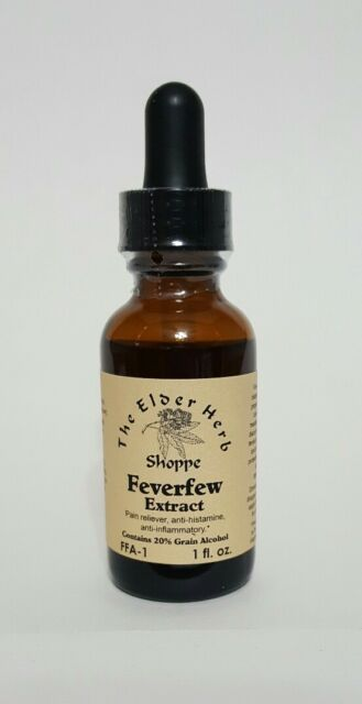 The Elder Herb Shoppe Feverfew Herb Extract Drops 1 oz.