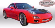 Mazda RX7 93-97 Urethane Front Bumper Body Kit Free Mesh Grills