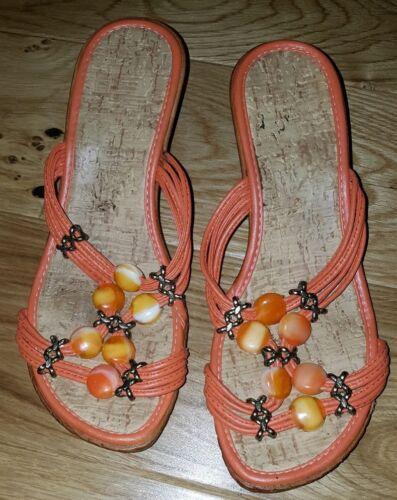 mj2628 Sandales ~ 4 4 Sandales ~ Sandales mj2628 4 orange orange 4qfwPSq