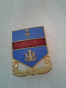 Authentic-WWII-US-Army-162nd-Infantry-Regiment-DUI-DI-Unit-Crest-Insignia-NH
