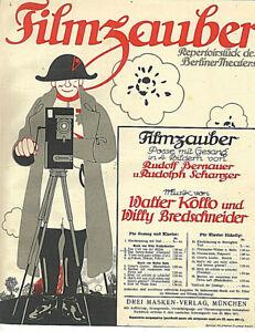034-Das-Lied-von-der-Muehle-034-von-Willy-Bredschneider-uebergrosse-alte-Noten
