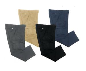 Red Kap Cintas Black Cargo Work Pants Unifirst etc-  Used Uniform Dickies