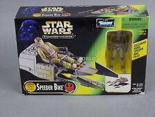 Vintage Star Wars SPEEDER BIKE w/ Exclusive BIKE PILOT Figure #rk1-2