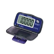 Omron HJ005 Pedometer Step Counter Large LCD Display Battery Powered Belt Clip