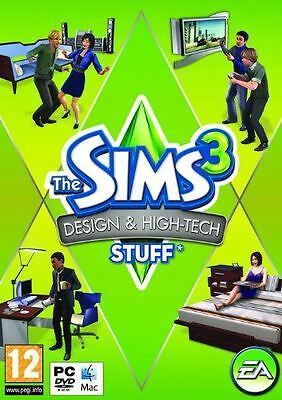 THE SIMS 3 III DESIGN & HIGH TECH STUFF EXPANSION PC *NEW & SEALED*