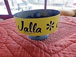 Ancien-presentoir-de-mercerie-en-tole-meuble-vintage-JALLA-griffe-jaune-1970