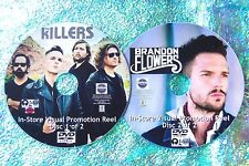 The KILLERS & Brandon Flowers Visual Promo Reel 48 Music Videos Reel 2 DVD Set