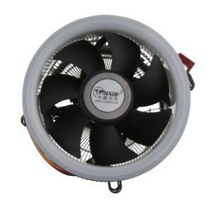 PC-CPU-Cooler-9cm-Cooling-Fan-w-LED-Heatsink-1800RPM-Hydraulic-for-Computer