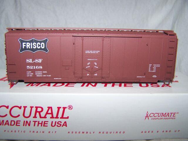 Accurail HO 40' Plug Door Boxcar Frisco(kit)