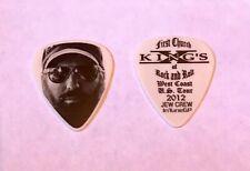 King/'s X Dug Pinnick First Church Rock /& Roll Yellow Guitar Pick 2012 Tour Kings