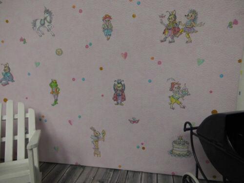 ideal para muñecas Tube habitación infantil arco 30x53cm Muy dulce papel pintado