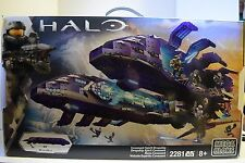 Mega Bloks Halo Covenant Spirit Dropship Building Set 2200 Pieces New