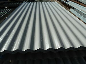 Image Is Loading Very Cheap Corrugated Roof Sheets Light Grey Metal