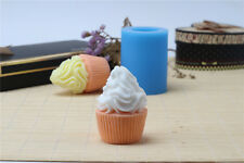 3D Ice Cream Silicone Soap Mold Candle Molds DIY Making Tools Chocolate Resin