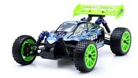 1/16 2.4ghz Exceed Rc Blaze Ep Electric Rtr Brushed Off Road Buggy Fire Blue