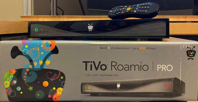 TiVo Roamio Pro DVR - 3 TB - 6 tuner - All-In Lifetime Service