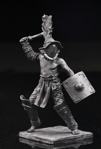 Roman Gladiators ThraexTin Toy Soldier 54mmMetal Figuresol-54-082