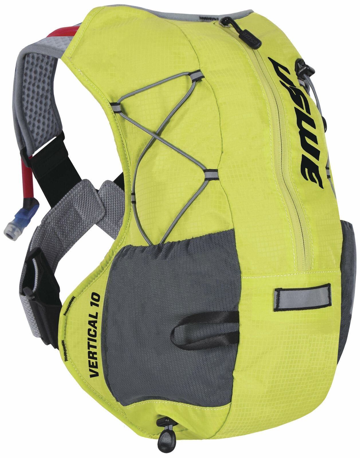 USWE Grünical 10L Plus Unisex Backpack, 480 Grams w  2L Hydration Pack Gelb