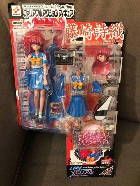 Bomber Girl x Tokimeki Memorial Fujisaki Shiori Figure TOKIMEMO Girl/'s Side game
