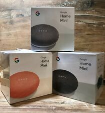 TOP Google Home Mini 3er SET - Farben: Karbon, Koralle UND Kreide!! - NEU + OVP!