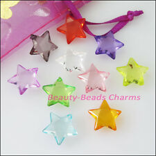 50pcs mixed plastic acrylic clear star charms pendants 15mm ebay 30pcs mixed plastic acrylic clear star charms pendants 15mm mozeypictures Gallery