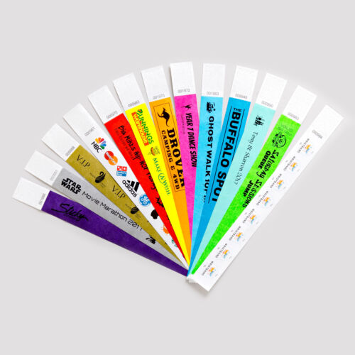 20 Bucks Stag Bachelor Party Tyvek Paper Event ID Wristbands Custom Print *SALE*