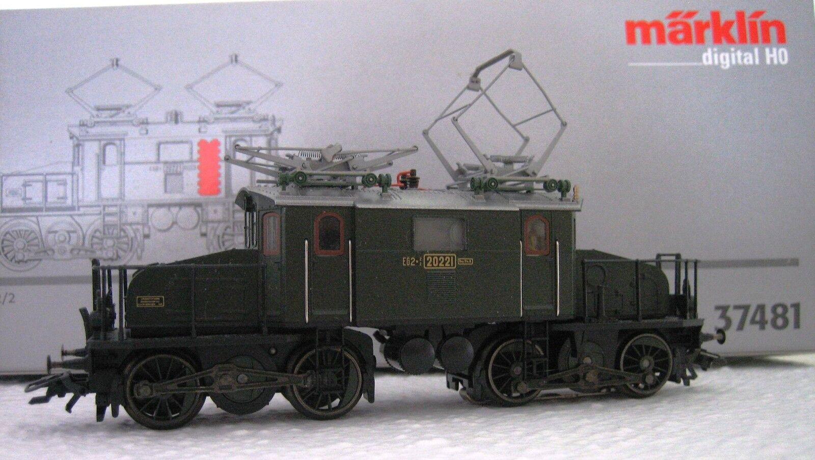 Märklin H0 37481 Electric Locomotive Eg 2x2 2 Digital New Condition Original Box