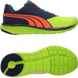 Image is loading Puma-FAAS-700-v2-Yellow-Blue-Orange-Mens-