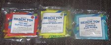 1989 McDonalds Beach Toy Inflatable Lot of 3 - Grimace / Ronald / Fry Kid - Pool