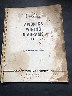 1973 avionics wiring diagrams for cessna 421b  ebay