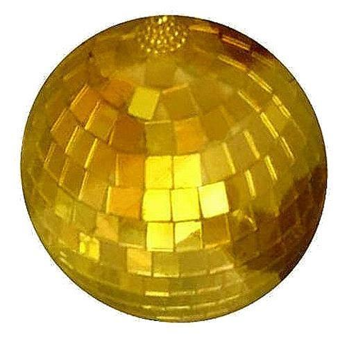 new 4 INCH GOLD MIRROR DISCO BALL party supplies reflection mirrors dj novelty