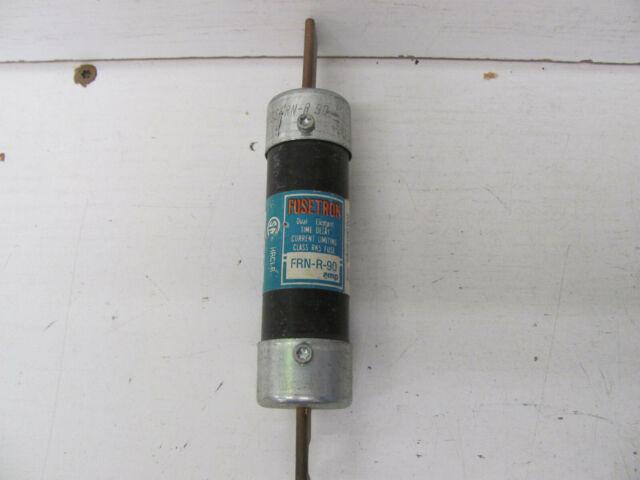 30 Amps Frnr30 250 Vac Bussmann Power Fuse Time Delay