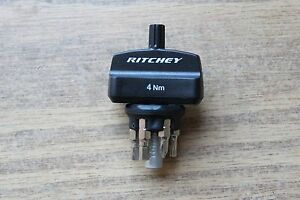 4-Nm-Ritchey-TorqKey-Bike-Torque-Key-Wrench-amp-6-Bits-Hex-Torx-Phillips-New