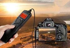 LCD Timer Remote Shutter Release for Canon EOS 350D Rebel XT 650D 700D 600D 60D