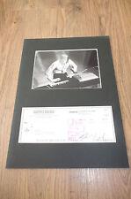 The Doors Ray Manzarek (+ 2013) signed autógrafo en 25x35 cm Passepartout Look