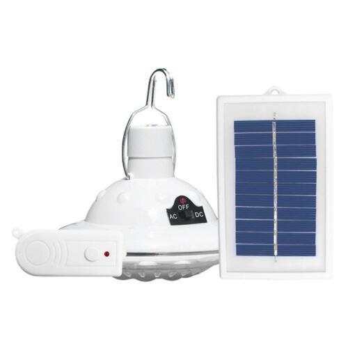 Solaire 22LED Ampoule Camping Portable Extérieur Télécommande Yard suspension éclairage