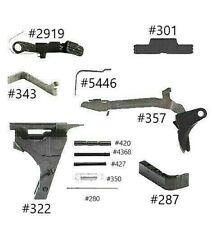 GLOCK 17 Gen 3 9mm Complete Slide Upper Lower Parts Kit OEM Poly 80