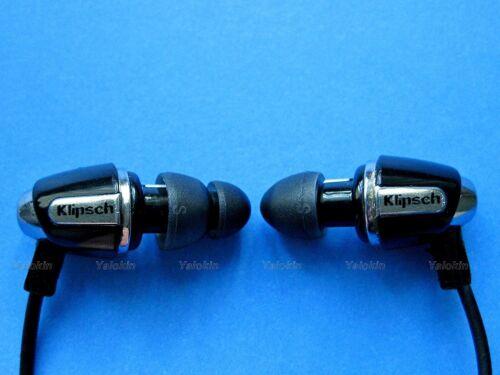 Replacement Adapters Ear Tips Gels for Klipsch In Ear Earphones NEW Oval B