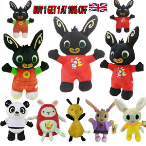 Bing Bunny Charlie Sula FLOP PANDO Plush Toy Stuffed Doll for Kids Gift