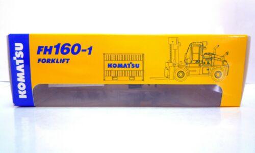 Japan Exclusive Komatsu Official Diecast Model Forklift FH160-1 1:87